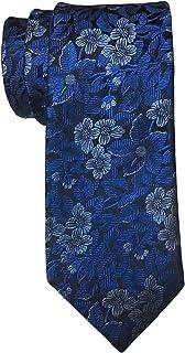 Ted Baker Blue Floral Slim Tie