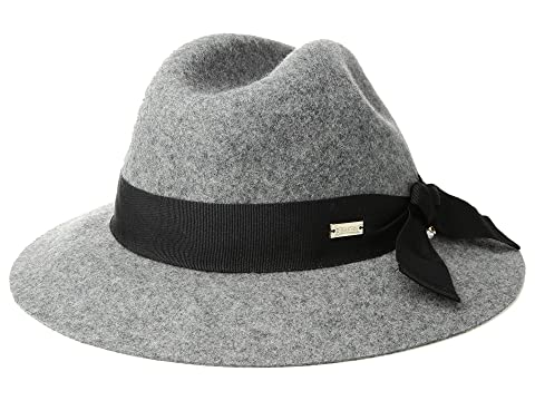 Women's Vintage Hats | Old Fashioned Hats | Retro Hats Betmar Bardot Heather Grey Caps $60.00 AT vintagedancer.com
