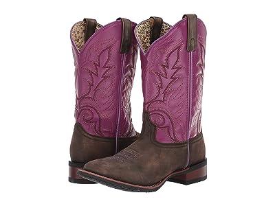 Laredo Kinleigh (Chocolate/Purple) Cowboy Boots