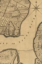 A plan of the city and environs of New York in North America: A Poetose Notebook / Journal / Diary (100 pages/50 sheets) (Poetose Notebooks)