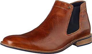 Wild Rhino Men's Drake Boots, Tan, 7 AU (41 EU)