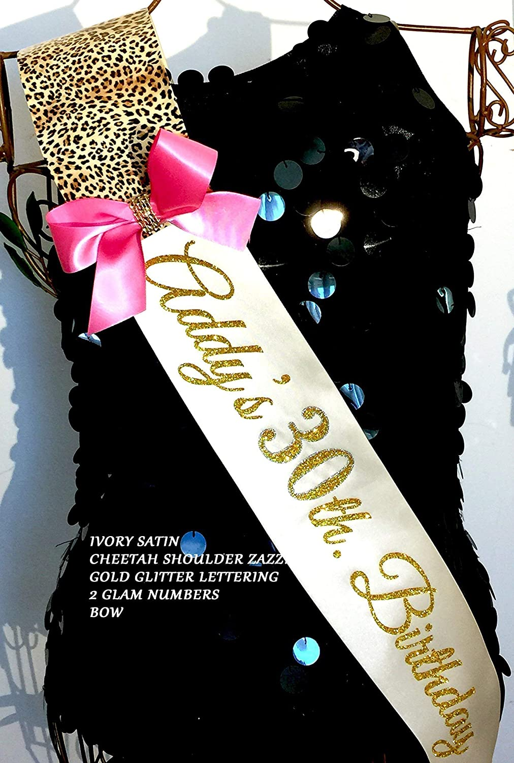 Manufacturer regenerated Industry No. 1 product Birthday Sash