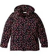 Stella McCartney Kids - Holly Printed Water Repellant Zip Hooded Jacket (Little Kids/Big Kids)