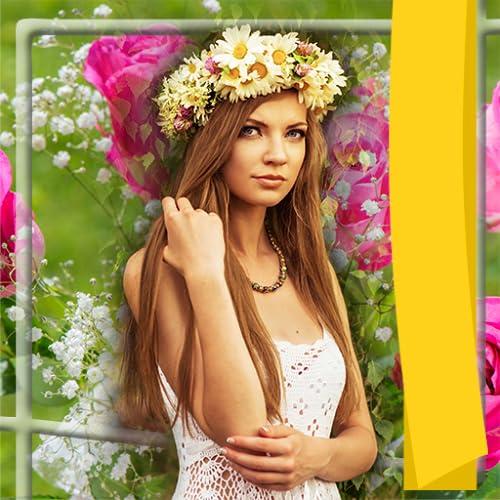 Welt der Blumen Bilderrahmen
