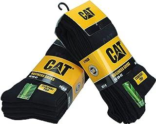 Caterpillar, 10 pares Calcetines cortos CAT hombres en algodón suave Altura debajo de la rodilla