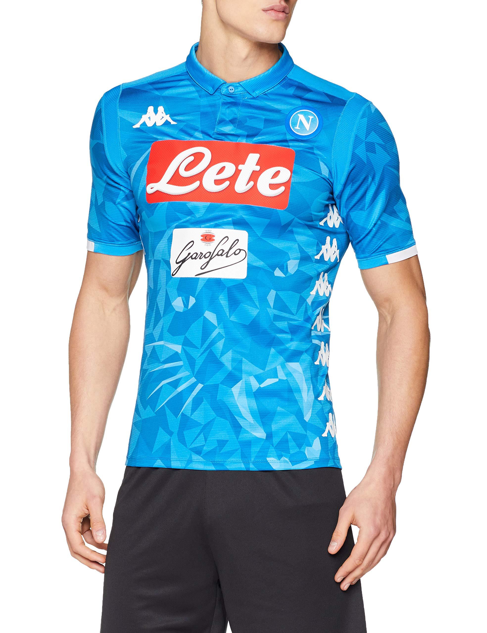 Ssc Napoli Home Match Shirt 2018 2019 Man Buy Online In Bosnia And Herzegovina At Bosnia Desertcart Com Productid 199124183