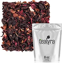 Tealyra - Cherry Goddess - Fruity Herbal Loose Leaf Tea - Caffeine-Free - Vitamin Rich - Hot and Iced - All Natural - 8 ounce