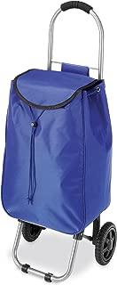 Whitmor Rolling Bag Cart Blue