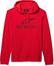 Alpinestars Men's Logo Fleece Pullover Hoodie Classic Fit