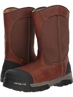 Carhartt 10 Waterproof Comp Toe Pull-On Work Boot