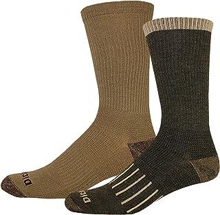 Dickies Men's Work To Casual Stripe Assortment Crew Socks, 4 Pair
