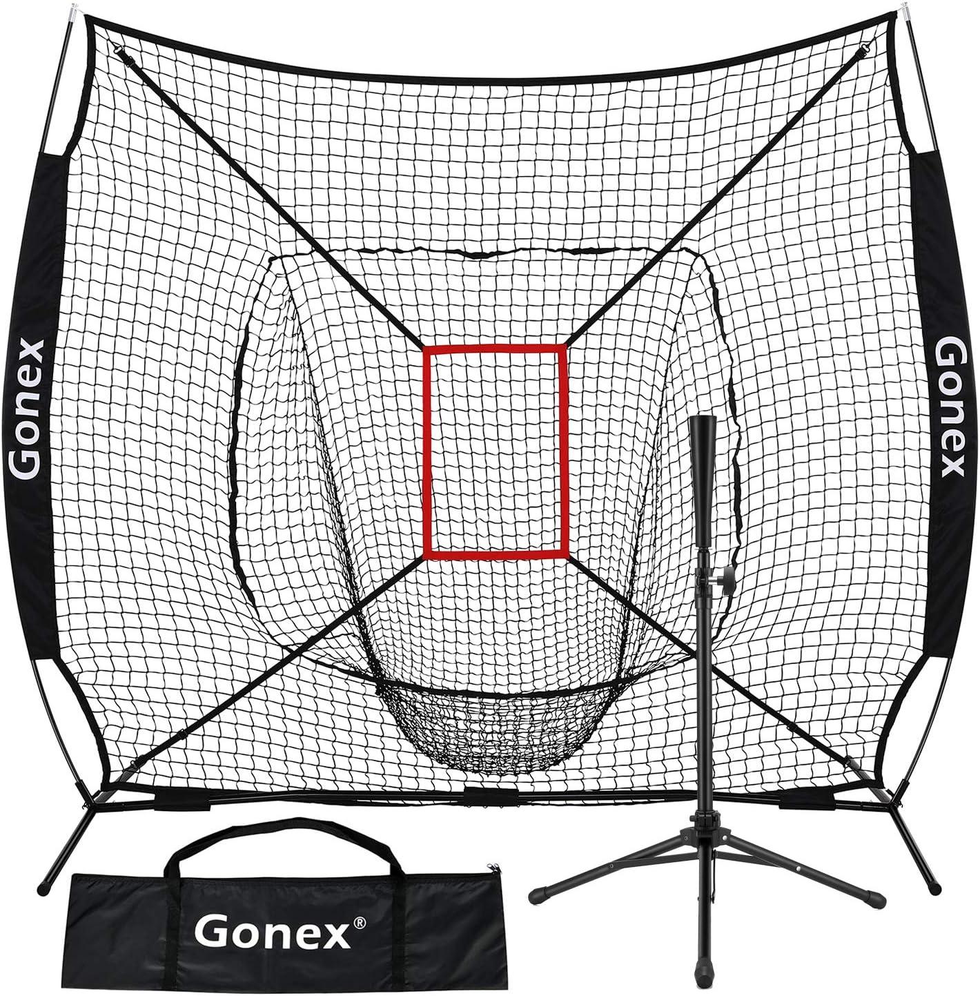 cheap Gonex 7' x Baseball Softball Practice Finally resale start Batting Set Te with Net