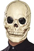 Smiffys Skull Mask, Foam Latex Size: One Size