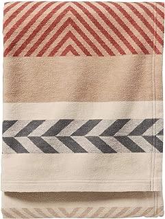Pendleton Mojave Twill Clay Organic Cotton Throw Blanket, One Size