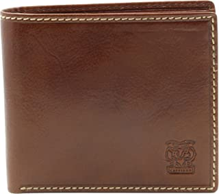 CAPPIANO Mens Genuine Leather Minimalist Credit Card Holder | Slim Business Card Case