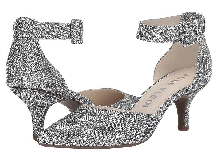 Anne Klein  Fabulist (Silver Lurex) High Heels