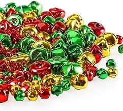 YEJI 10pcs yellow Christmas Bells Iron Loose metal Beads Jingle Bells Christmas Decoration Pendants DIY Crafts Handmade Accessories