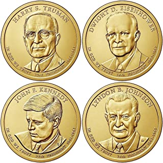 2015 Various Mint Marks Presidential Dollar 2015 P, D Presidential Dollar 8-Coin P & D Uncirculated Uncirculated