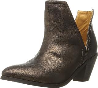 N.Y.L.A. Women's Izzy Ankle Bootie, (دارك جنغل جرين), 6
