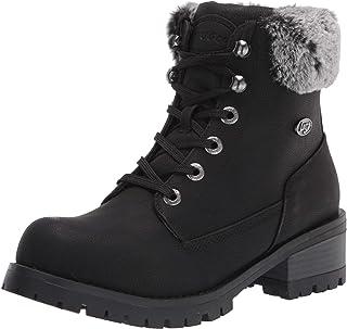 Lugz Women's Flirt Hi Fur Classic 6-inch Chukka Fashion Boot Combat