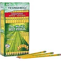 72-Count Ticonderoga Wood-Cased #2 HB Soft Cased Pre-Sharpened Pencils
