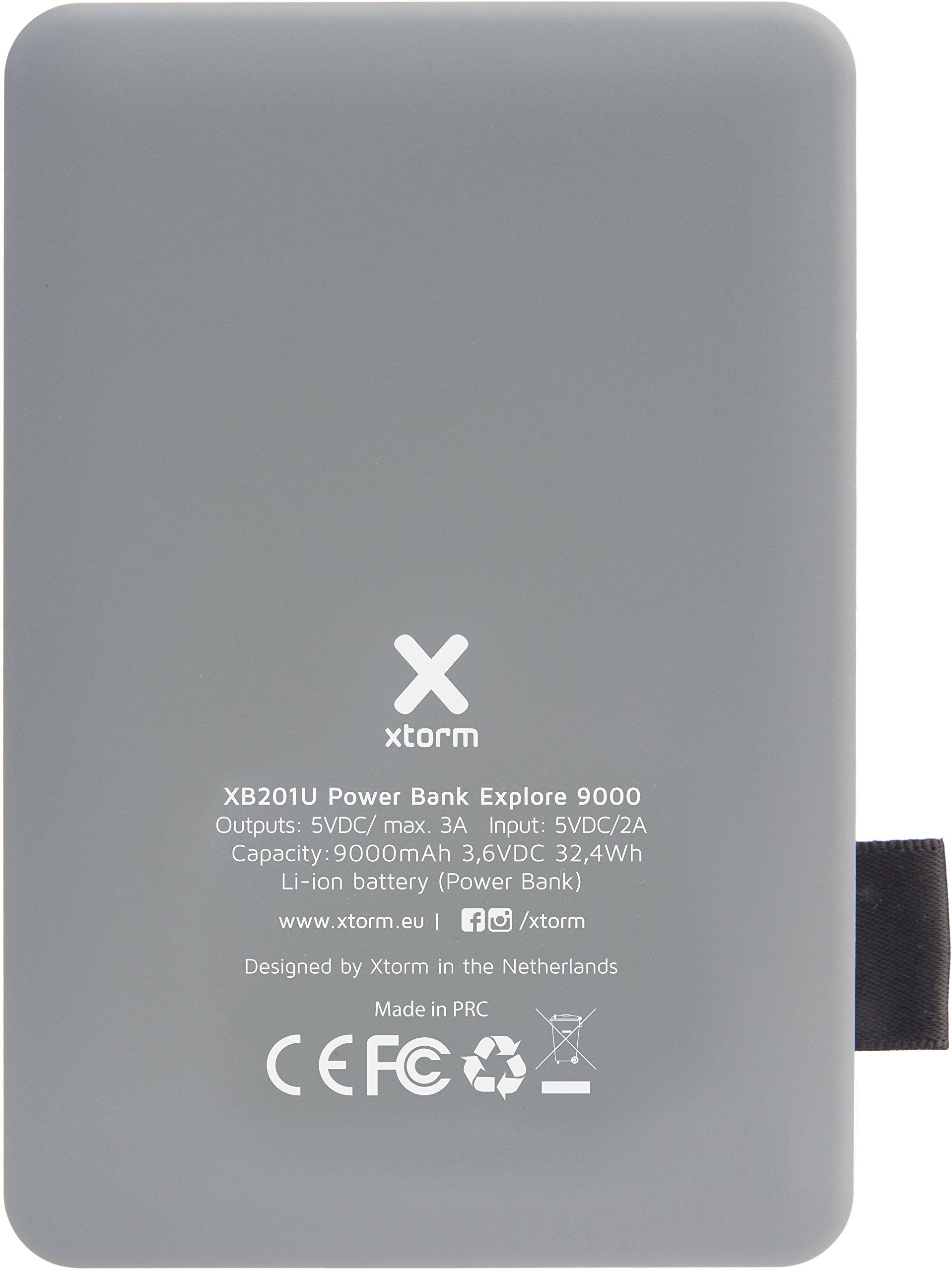 Xtorm xb201u Power Bank Explore (9,000 mAh, 2.4 A Out, 2 x