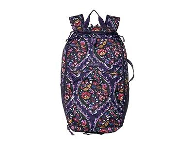 Vera Bradley Lighten Up Journey Backpack (Foxwood Meadow) Backpack Bags