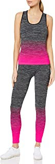 FM London Vest Top And Leggings Conjunto ropa deportiva para Mujer