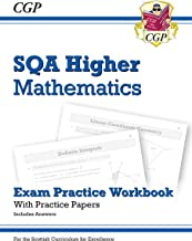 New CfE Higher Maths: SQA Exam Practice Workbook - includes Answers (CGP Scottish Curriculum for Excellence)