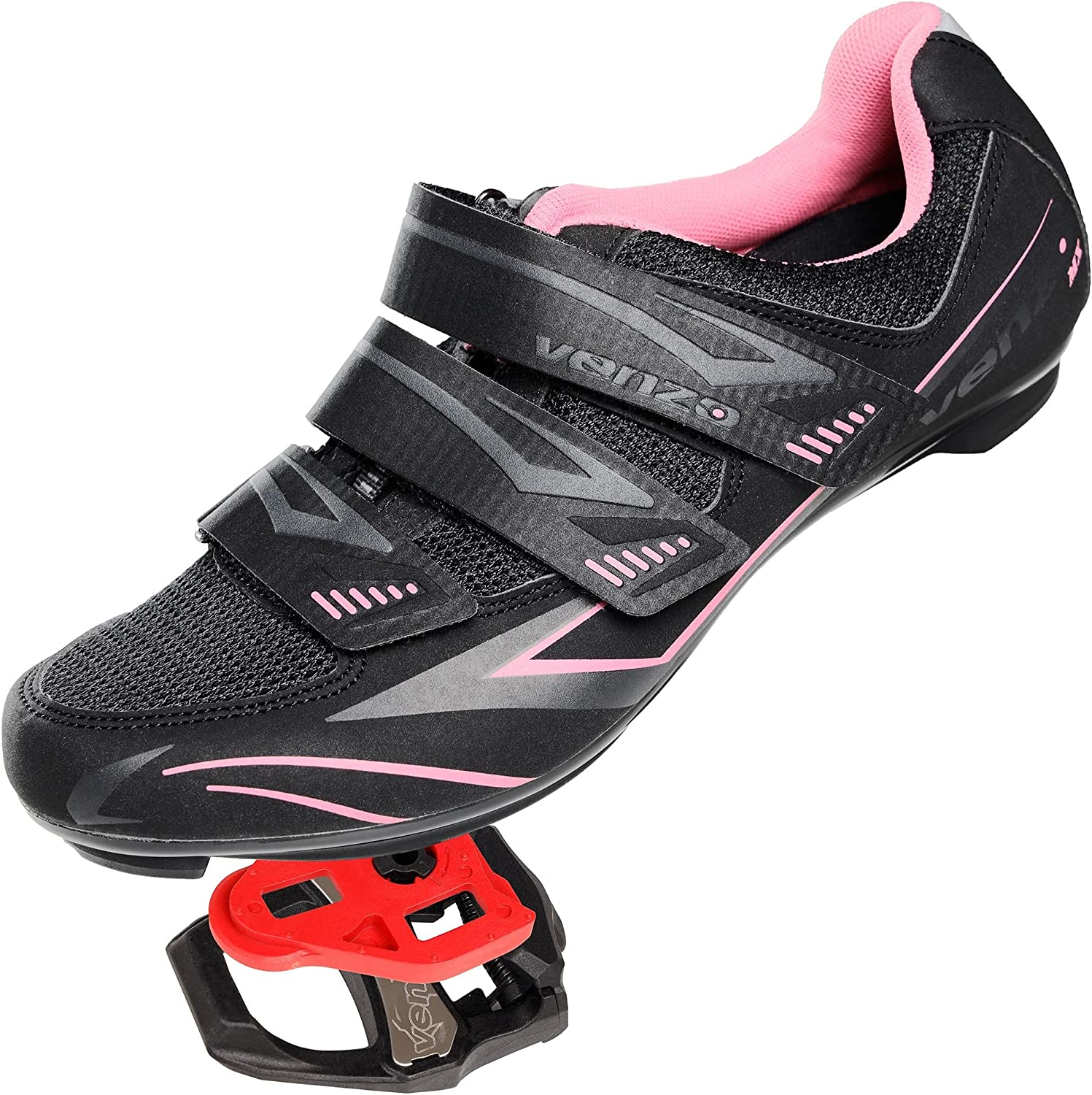 Venzo Bicycle Women's Road Cycling Shoes Riding Super beauty product restock quality Mail order cheap top with - Bike