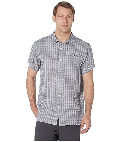 Columbia Declination Trailtm II S/S Shirt (White Stripe) Men
