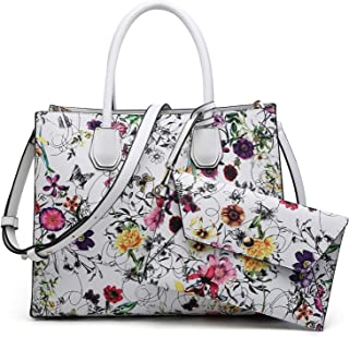 Purses and Handbags for Women Satchel Bags Top Handle Shoulder Bag Work Tote Bag With Matching Wallet