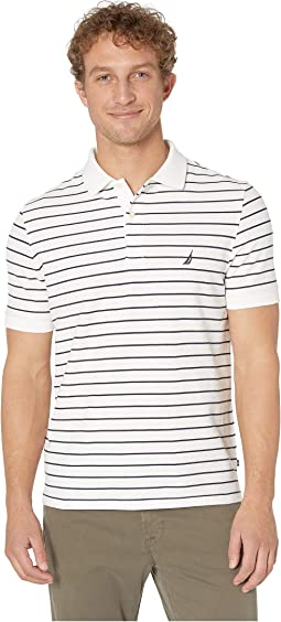 All Over Stripe Deck Polo