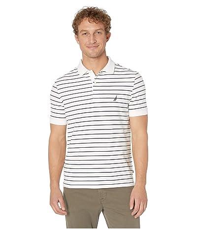 Nautica Striped Shirt (Bright White) Men