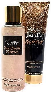 Victoria's Secret Bare Vanilla Shimmer Fragrance Mist and Lotion Set