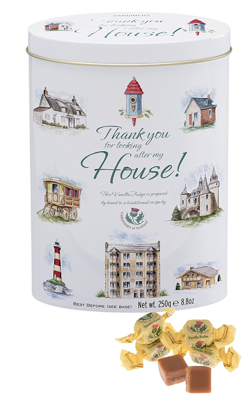 Year-end annual account Gardiners of Scotland Vanilla Fudge Thank You 8.8 Home Portland Mall Ou Tins