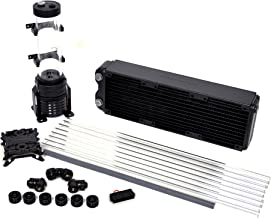 Thermaltake Pacific Riptide 360 Pro D5 Res/Pump PETG Hard Tube Water Cooling Starter Kit CL-W121-CA12RE-A