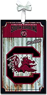 Team Sports America South Carolina Gamecocks Corrugated Metal Ornament