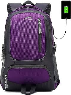 Backpack Bookbag for School College Student Travel Business USB Charging Port