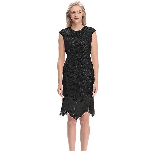 Roaring 20s Gatsby Charleston Dress: Amazon.com