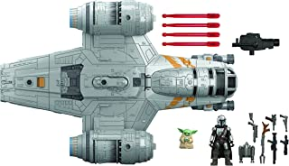 Star Wars Mission Fleet The Mandalorian The Child Razor Crest Outer Rim Run Deluxe Vehicle with 2.5-Inch-Scale Figure, for...