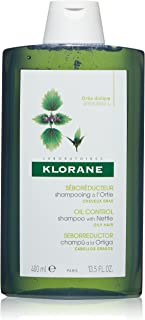 Klorane Shampoo with Nettle - champuses (Mujeres, No profesional, Champú, Cabello graso, Voluminizadora, Nettle)