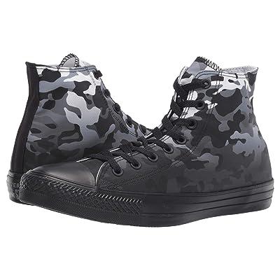 Converse Chuck Taylor(r) All Star(r) Gradient Camo Hi (White/Black/Black) Athletic Shoes