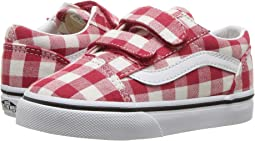 22b96209bc174e (Gingham) Racing Red True White. 62. Vans Kids. Old Skool V (Toddler).   32.99MSRP   40.00