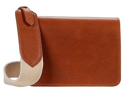 Shinola Detroit Sibley Mini Crossbody (Natural) Handbags