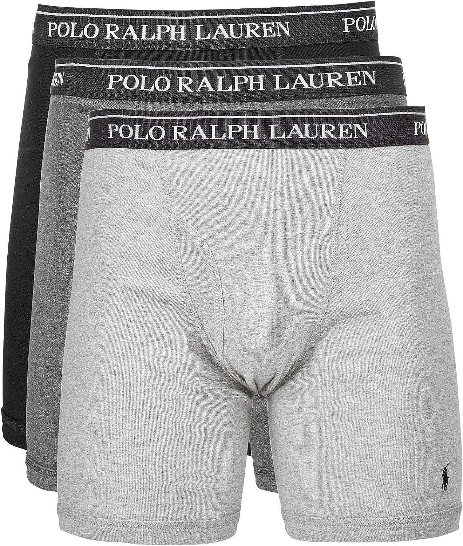 Polo Ralph Lauren Men's Classic Fit Boxer Briefs - 3 Pack