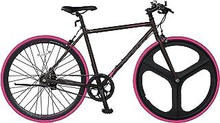 ヘッド(HEAD) ×CHACLE(チャクル) KLOTOA(クロトア) クロスバイク フレームサイズ 490mm 内装5段変速 マグネシウムバトンホイール採用 軽くてパンクしないノーパンクタイヤ装着自転車 CRR-CC-HE7005KL