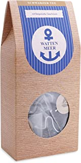 Schwarzer Tee Earl Grey im Pyramidenbeutel aromatisch - Wattenmeer 15 Beutel Schwarztee Mehr Meer Sylter Teekontor