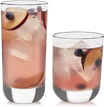 libbey polaris 16 piece tumbler glasses set