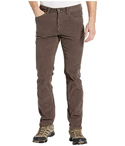 Prana Sustainer Cord Pants (Scorched Brown) Men